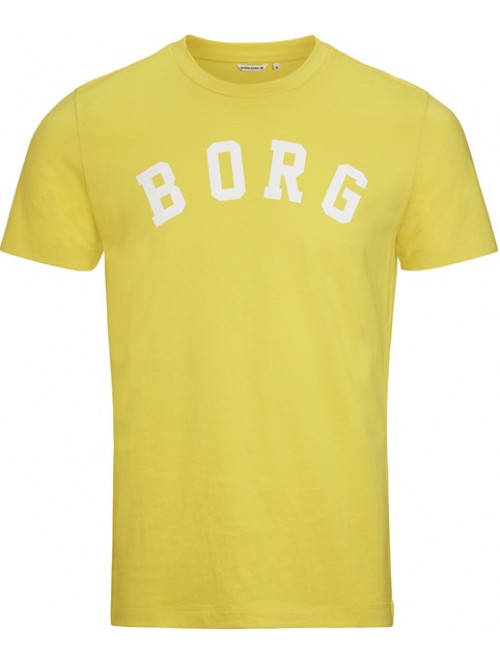 Férfi póló Björn Borg Berny Tee Maize Yellow sárga
