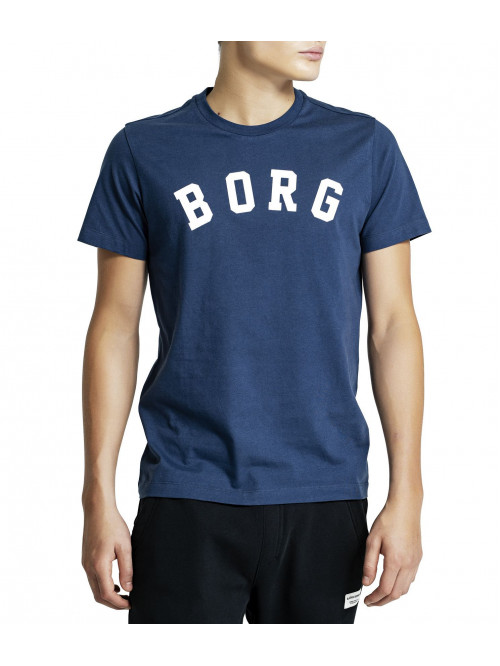 Férfi póló Björn Borg Berny Tee Insignia Blue kék