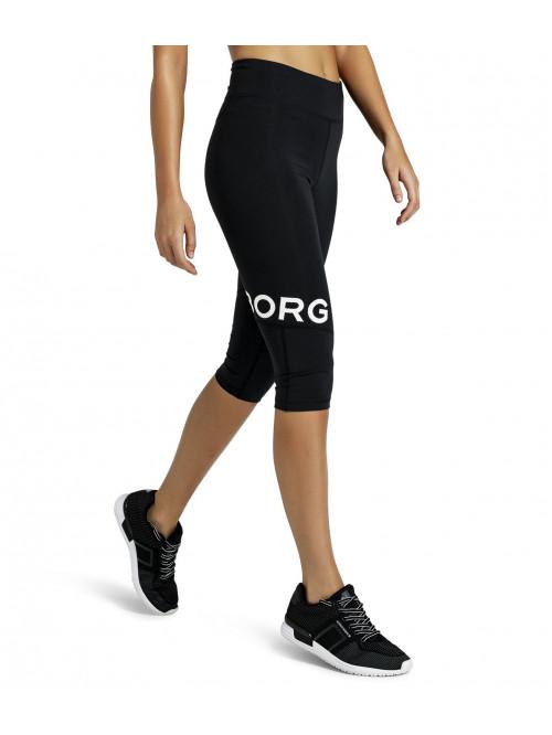 Női leggings Björn Borg Cajsa 3/4-es fekete
