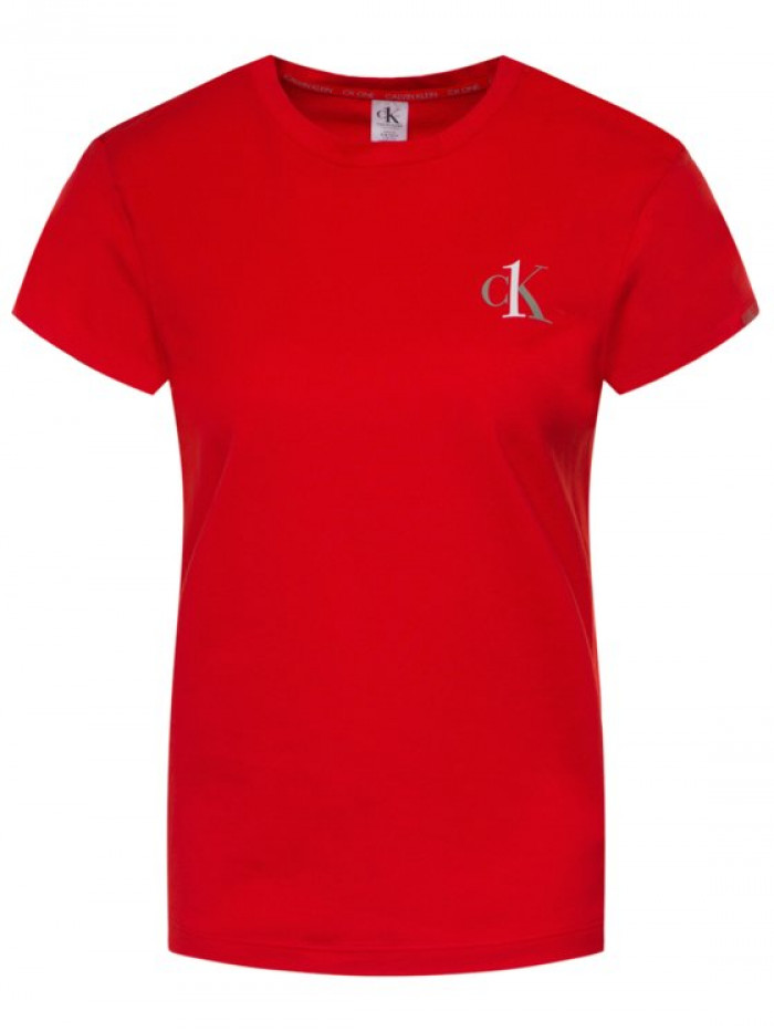 Női póló Calvin Klein CK ONE SS Crew Neck piros