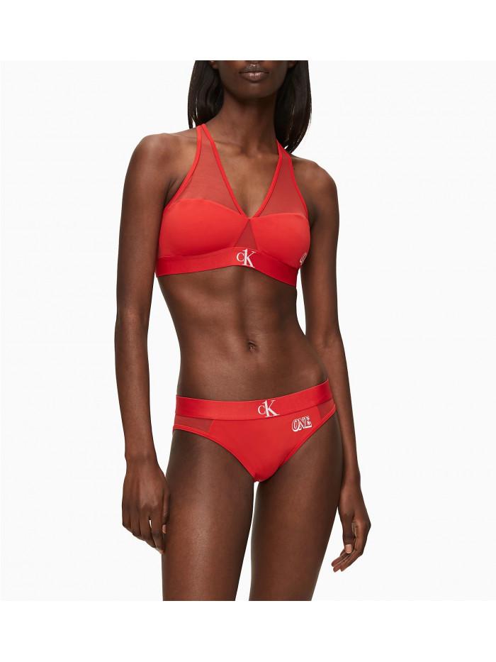 Női alsónemű Calvin Klein CK ONE Bikini Brief piros