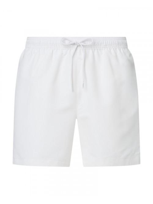 Férfi fürdőnadrág Calvin Klein Medium Drawstring fehér