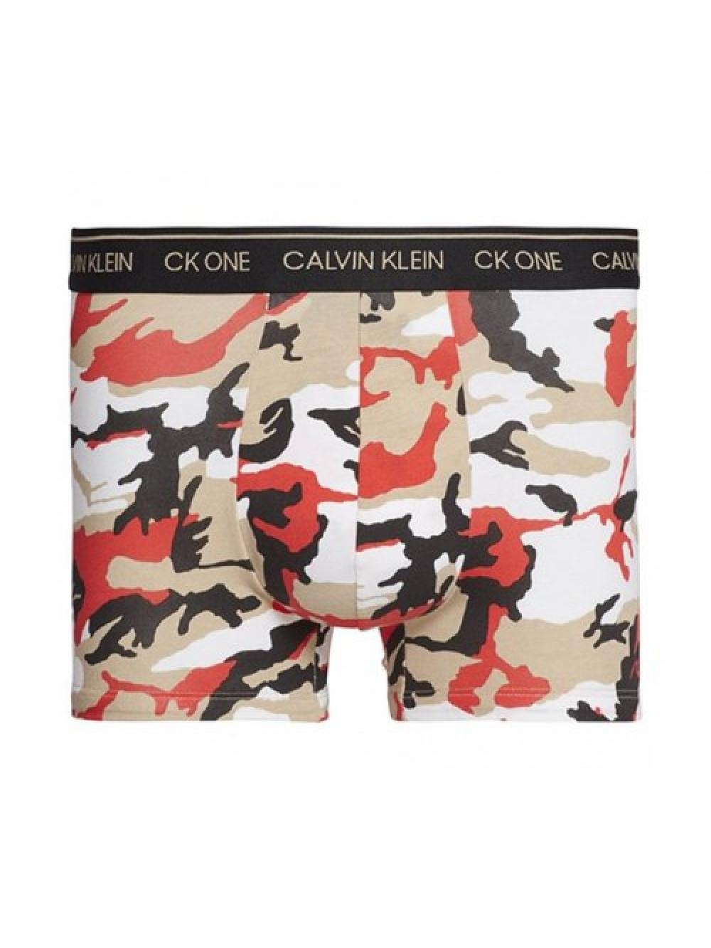 Férfi boxeralsó Calvin Klein CK One Army színes