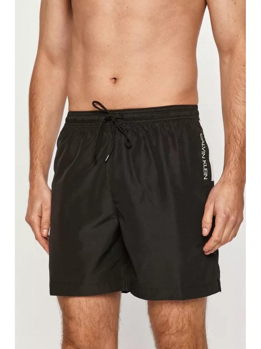 Férfi fürdőnadrág Calvin Klein Medium Drawstring fekete