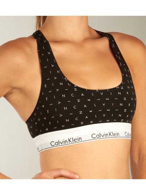 Női sportmelltartó Calvin Klein Bralette Lift fekete