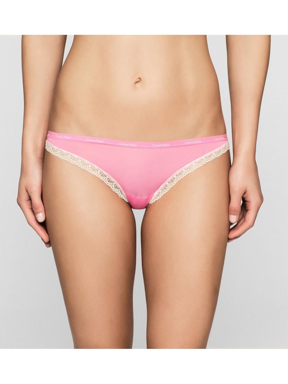 Női alsónemű  Calvin Klein Bikini Bottoms Up rózsaszín