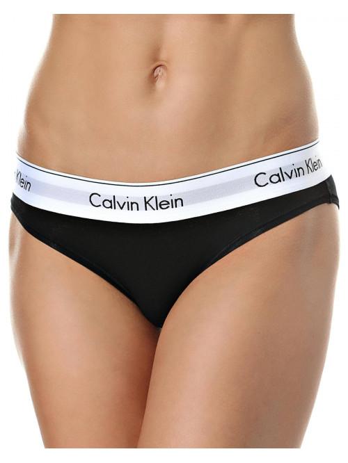 Női alsónemű  Calvin Klein Modern Cotton Bikini fekete