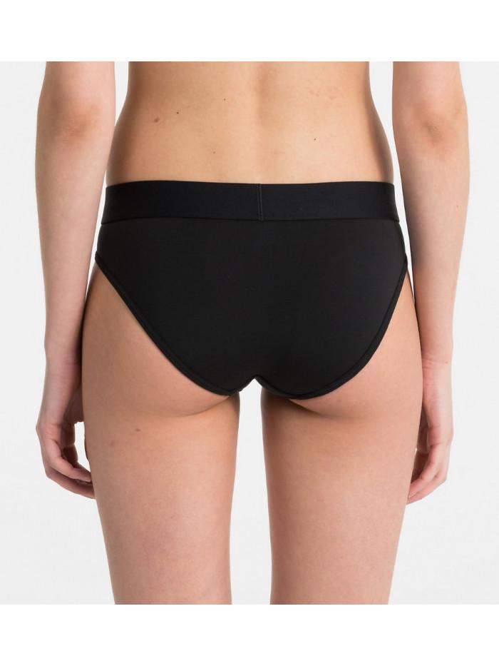 Női alsónemű Calvin Klein Tonal Logo Bikini fekete