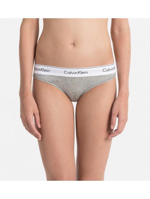 Női alsónemű  Calvin Klein Modern Cotton Bikini szürke