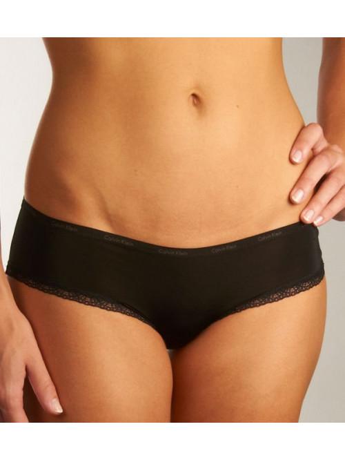 Női alsóneműk Calvin Klein Carousel Bikini fekete, fehér 3-pack