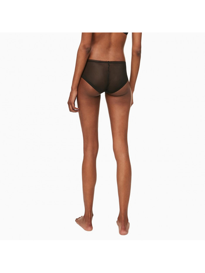 Női alsónemű Calvin Klein Sculpted Mesh Bikini fekete