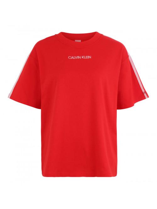 Női póló Calvin Klein SS Crew Neck piros