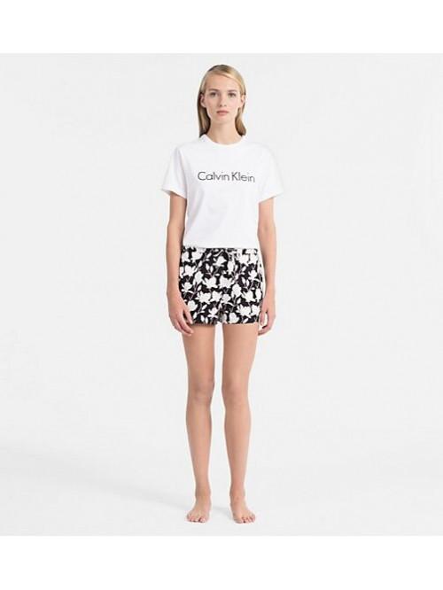 Női póló Calvin Klein S/S Crew Neck fehér