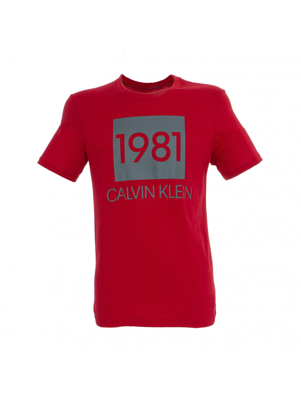 Férfi póló Calvin Klein SS Crew Neck 1981 piros