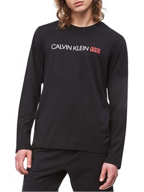 Férfi póló Calvin Klein Crew Neck 1981 fekete