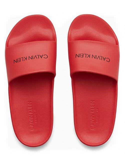 Női papucs Calvin Klein One Mold Slide piros