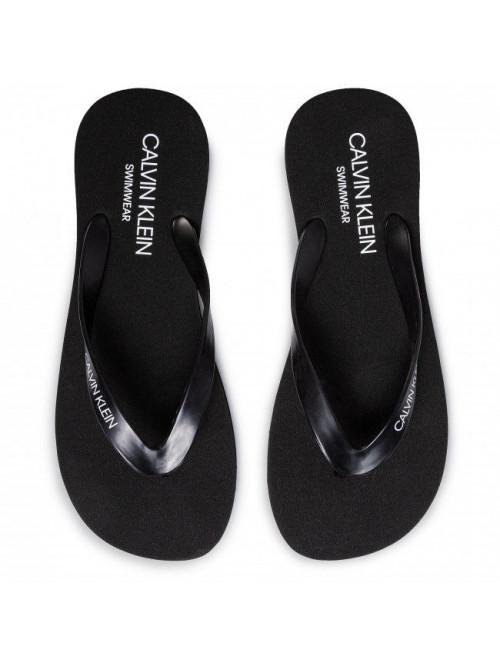 Férfi strandpapucs Calvin Klein Swimwear fekete