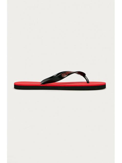 Férfi strandpapucs Calvin Klein Swimwear piros