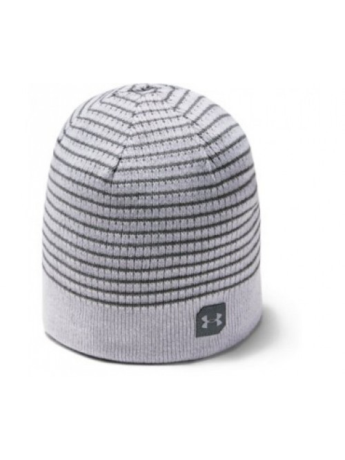 Férfi sapka Under Armour Men's Reversible Golf Beanie szürke