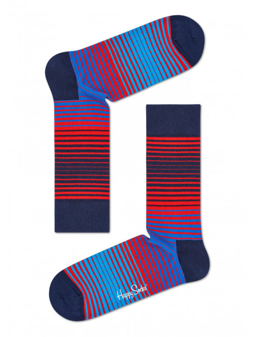 Happy Socks Zokni Dark Sunrise