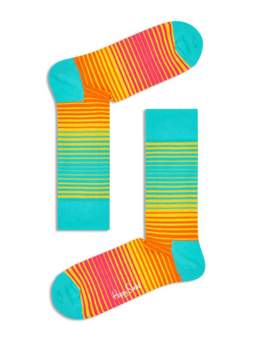 Happy Socks Zokni Bright Sunrise