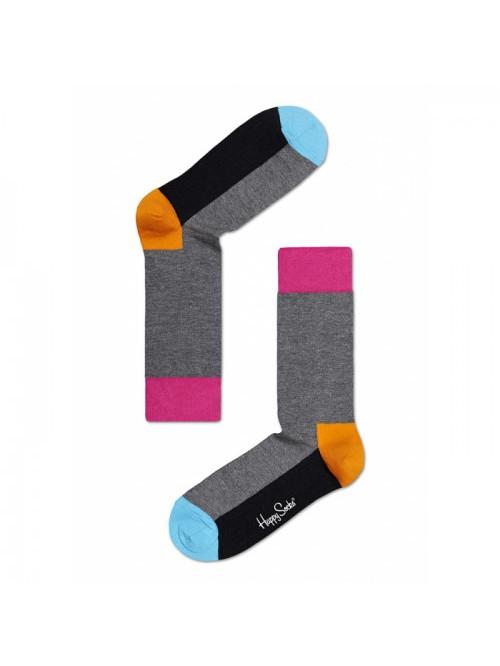 Happy Socks Zokni Five Color - szürke