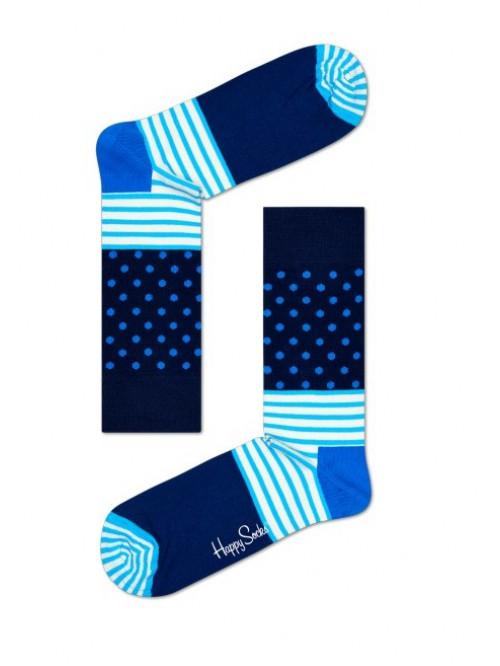 Happy Socks Zokni Stripe Dot - kék