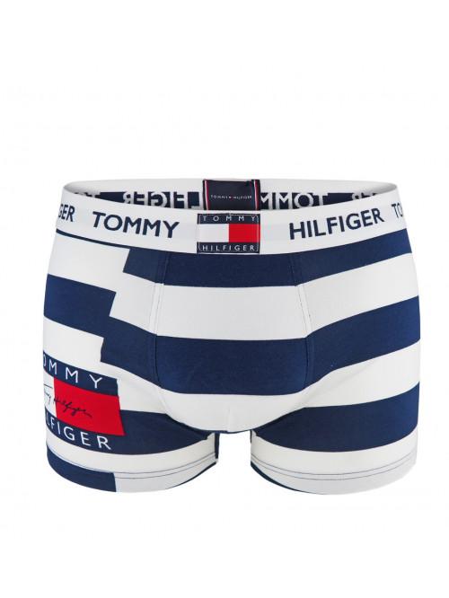 Férfi boxeralsó Tommy Hilfiger Repeat Logo Print csíkos