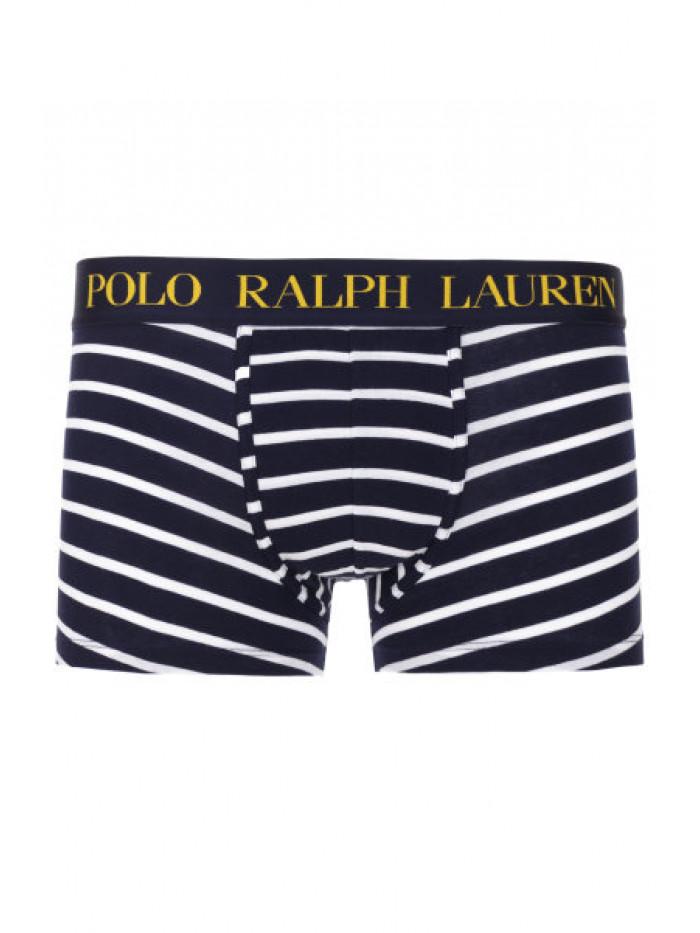 Férfi boxeralsó Polo Ralph Lauren Classic Stripe Trunk Stretch Cotton kék-fehér csíkos