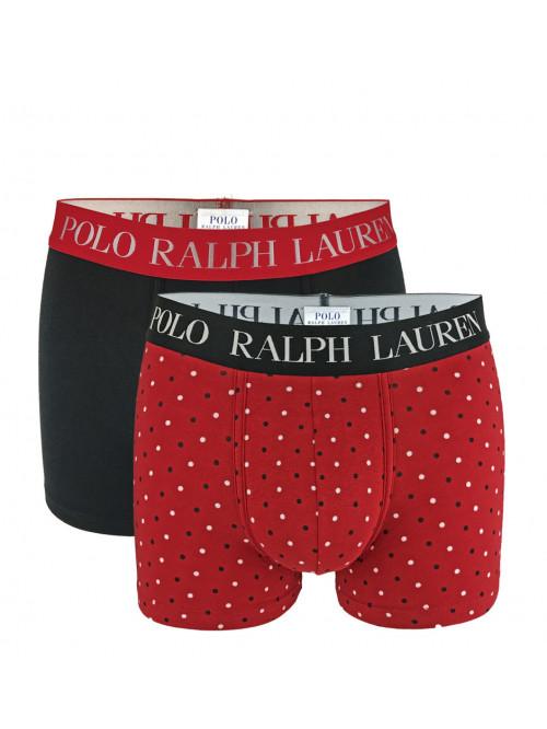 Férfi boxeralsó Polo Ralph Lauren Classic Trunk Stretch Cotton 2-pack fekete, piros