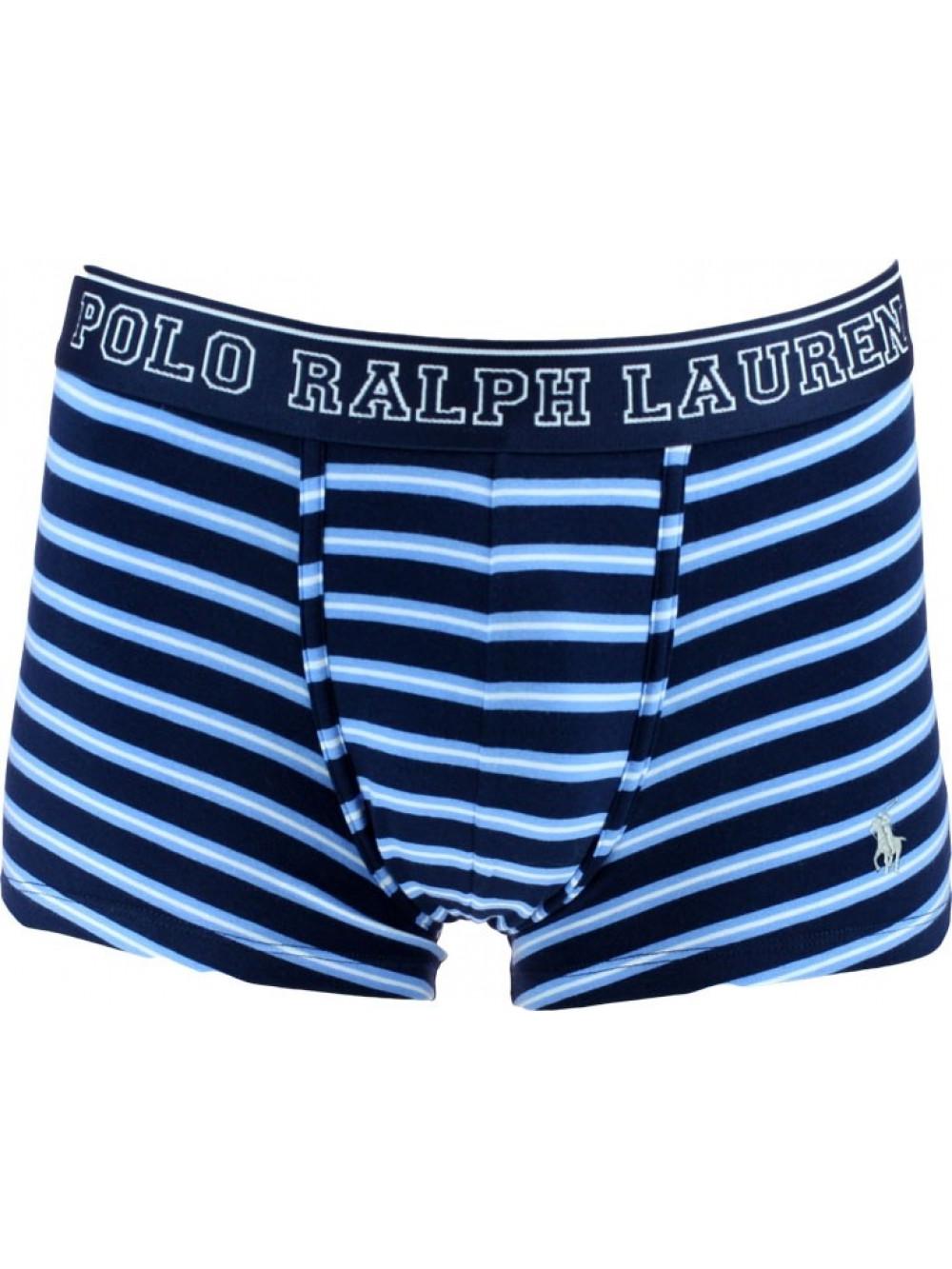 Férfi boxeralsó Polo Ralph Lauren Cruise Navy Multi Stripe Nevis PP sötétkék