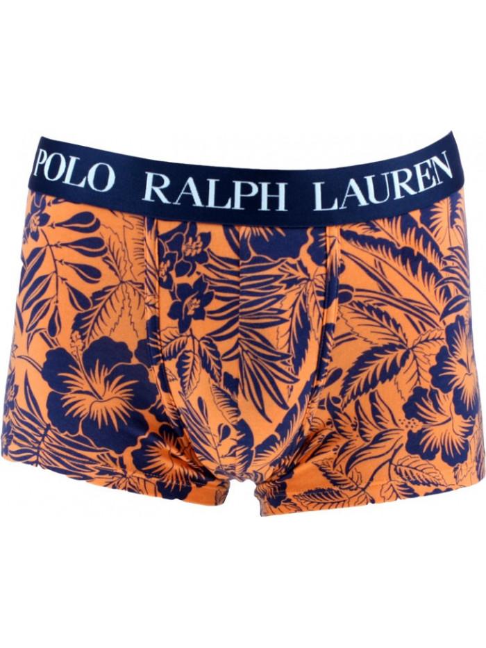 Férfi boxeralsó Polo Ralph Lauren Classic Trunk Tropical Print Sun narancssárga