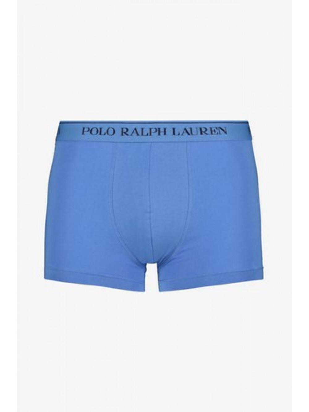 Férfi boxeralsó Polo Ralph Lauren Classic Pouch Trunk Stretch Cotton kék