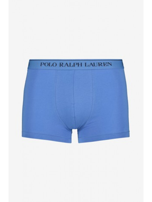 Férfi boxeralsó Polo Ralph Lauren Classic Pouch Trunk Stretch Cotton kék