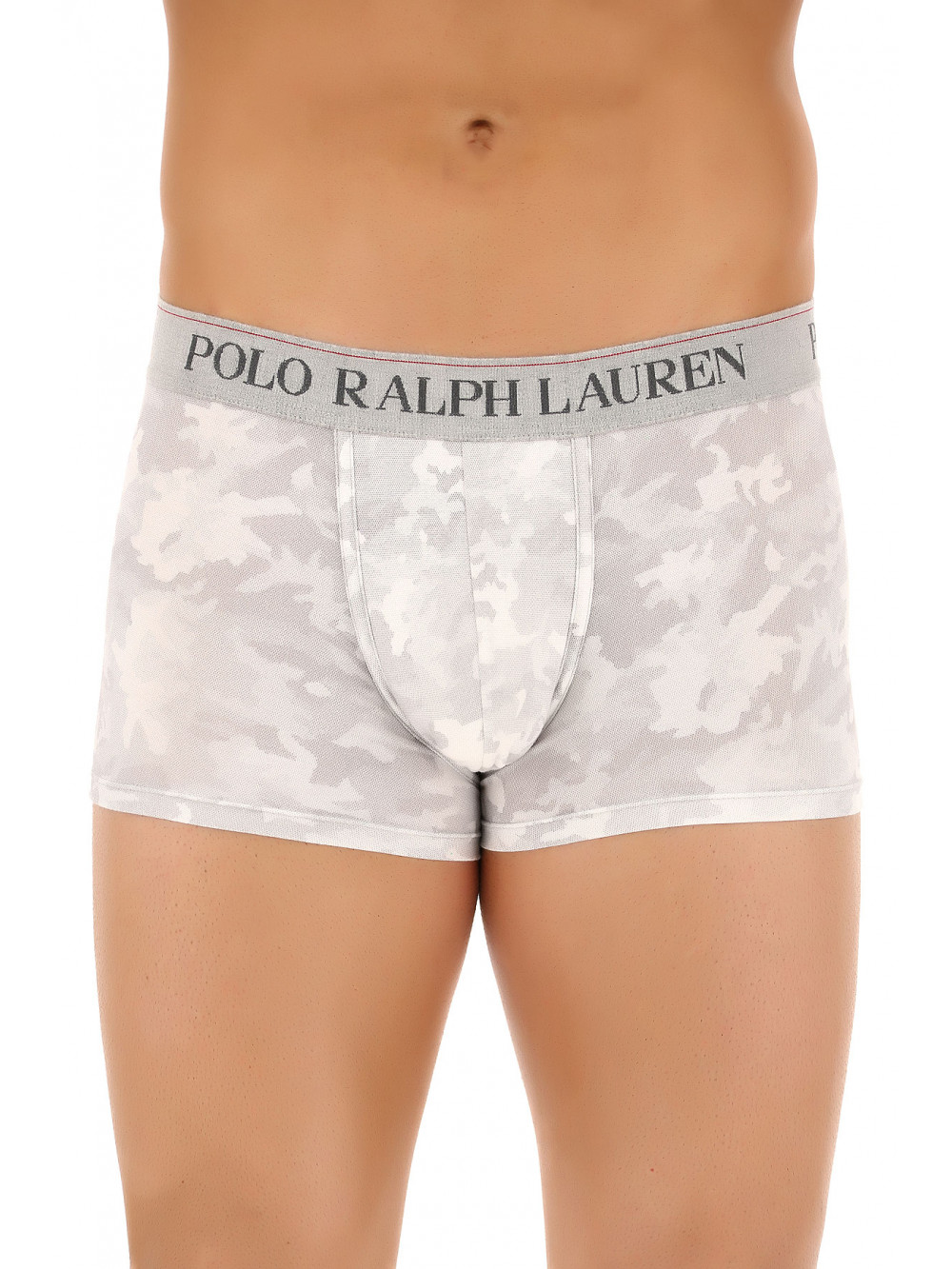 Férfi boxeralsó Polo Ralph Lauren Classic Trunk Grey Digital Camo szürke