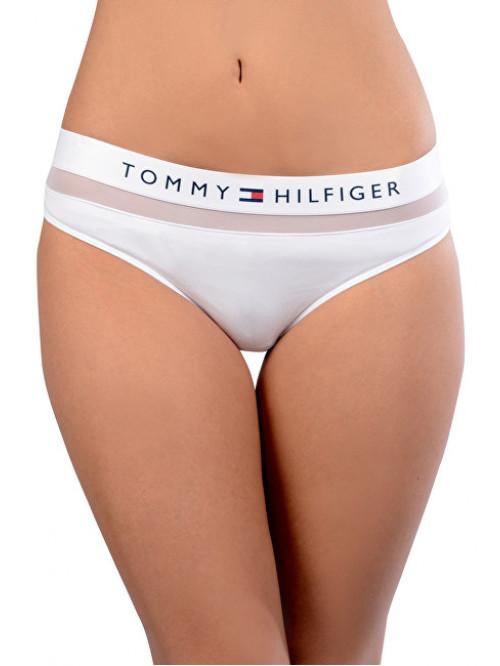 Női alsónemű Tommy Hilfiger Sheer Flex Bikini fehér
