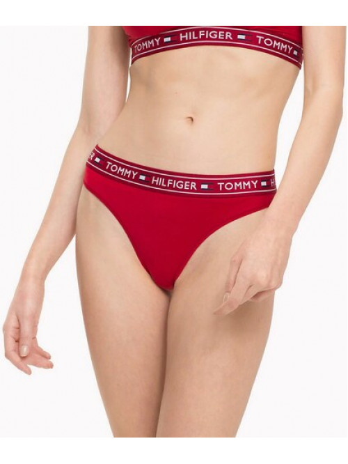 Női alsónemű Tommy Hilfiger Brazilian Pants piros