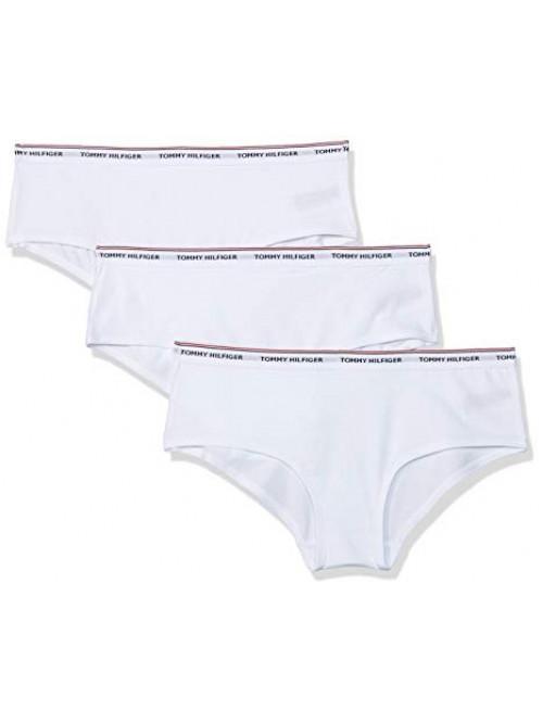 Női alsónemű Tommy Hilfiger fehér színben 3P SHORTY
