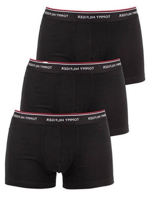 Férfi boxalsók Tommy Hilfiger Premium Essentials fekete 3-pack