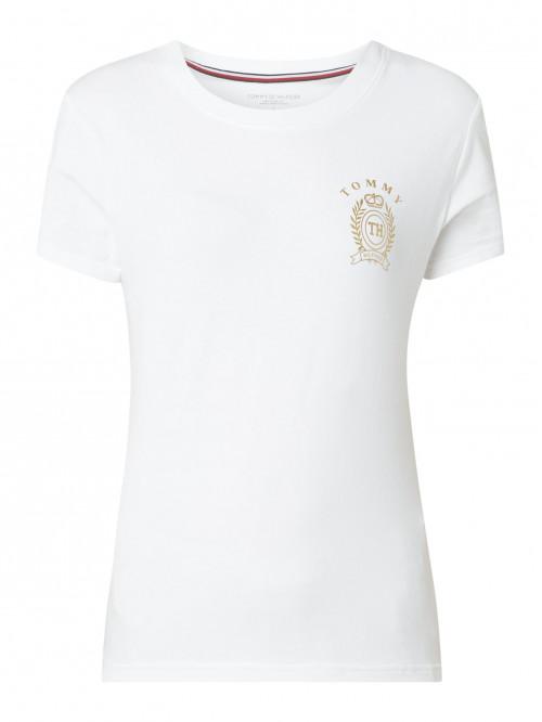 Női póló  Tommy Hilfiger CN Tee SS fehér