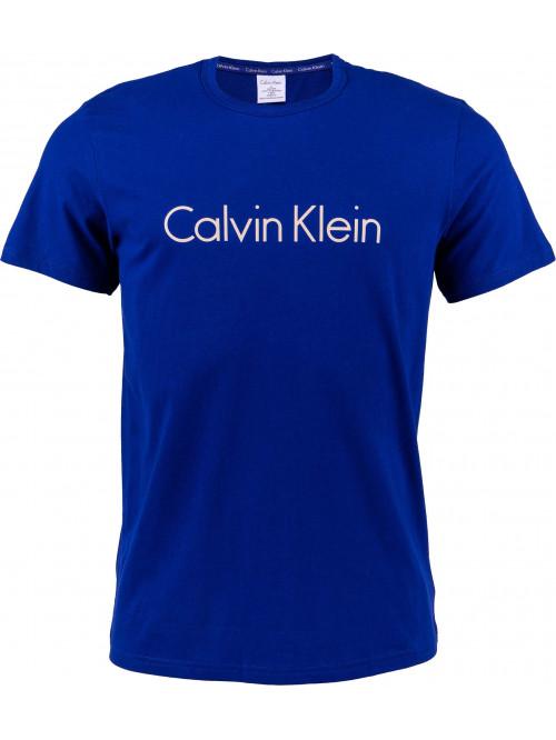 Férfi póló Calvin Klein SS Crew Neck sötétkék