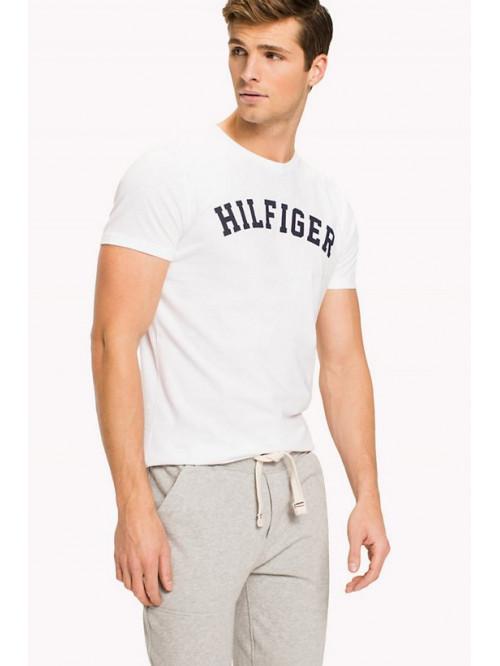 Férfi póló Tommy Hilfiger SS TEE LOGO fehér