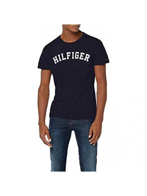 Férfi póló Tommy Hilfiger SS TEE LOGO navy kék