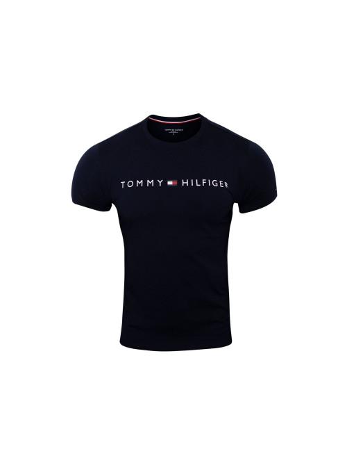 Férfi póló Tommy Hilfiger Crew Neck Tee Logo kék