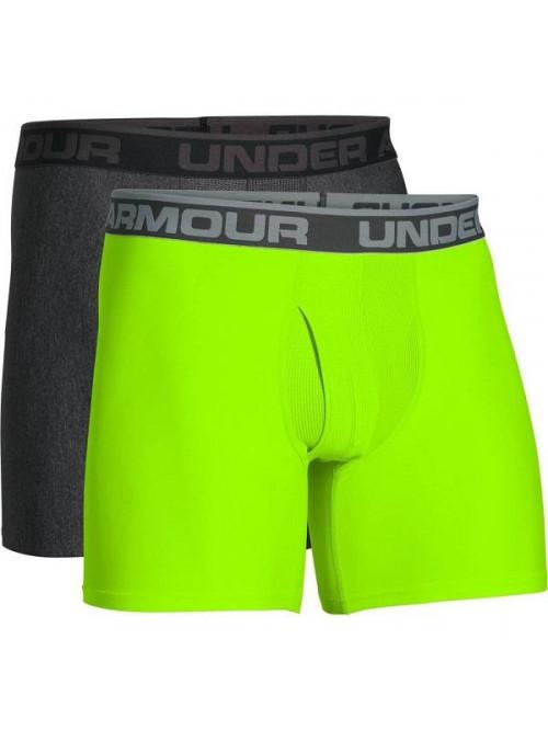 Férfi boxeralsó Under Armour BOXERJOCK 2-pack, zöld és szürke