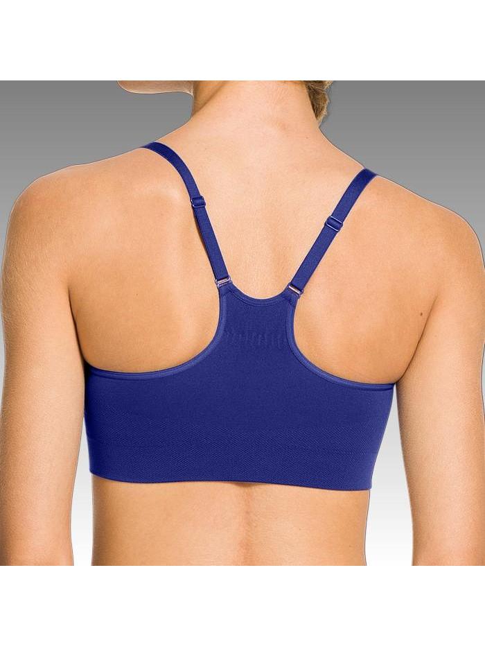 Női sportmelltartó Under Armour Seamless Essential kék