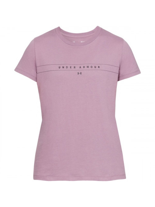 Női póló Under Armour Classic Crew lila