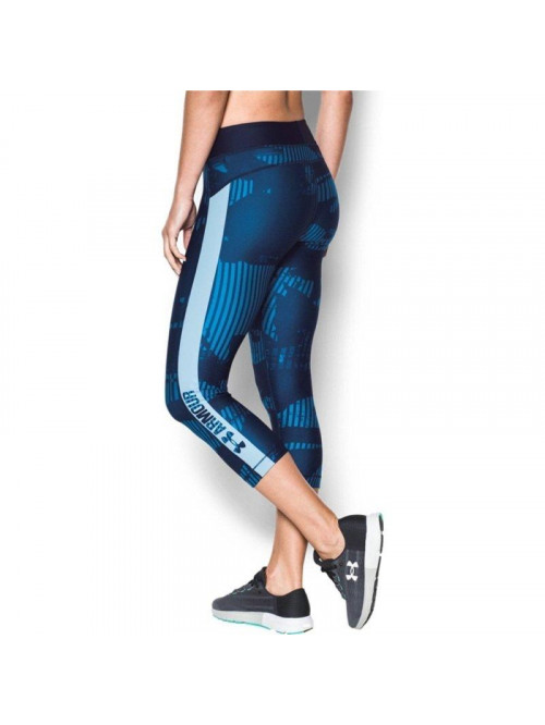 Női kompressziós 3/4 leggings Under Armour PrintGrap camo kék