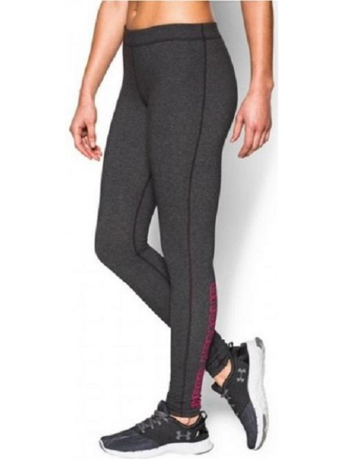 Női leggings Under Armour Favorite Wordmark szürke