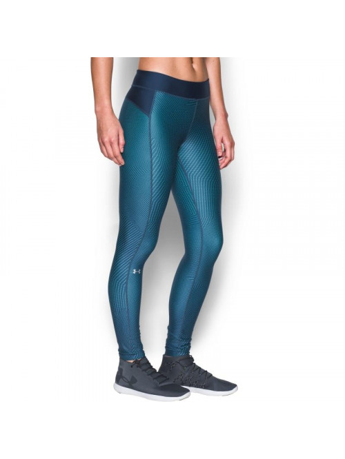 Női kompressziós leggings Under Armour HG Printed kék